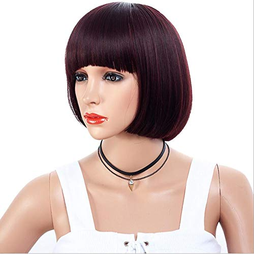 LIUXIQUAN Kurze Bob Hair Perücken 28cm Cosplay Tägliche Party ()