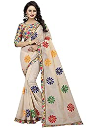 Saree By Sat Creation Cotton Saree With Blouse Piece