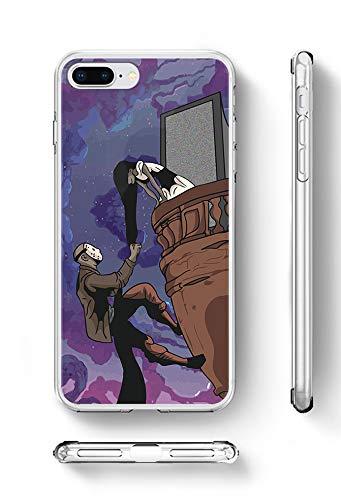 c rivera Sadako and Jason Funny Halloween Tangled Climb Night Fanart Weiche TPU Silikon Hülle handyhülle für iPhone XR (Xr)