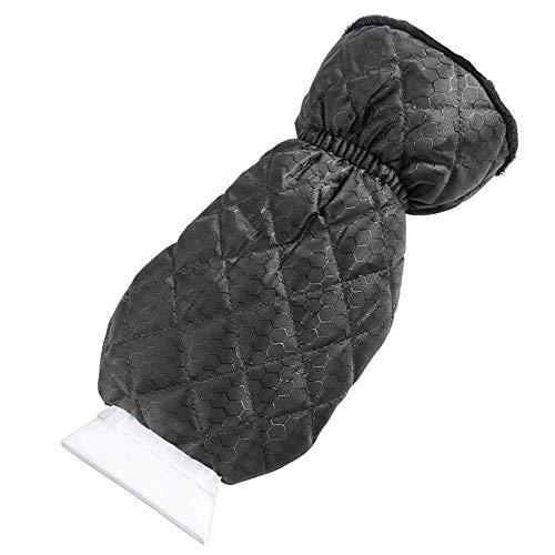 Thick Fleece Ice Scrapers Mitten And ABS Snow Scraper Tool Car Windscreen Scraper Waterproof Breathable Glove No Damage for Car Windshield Window