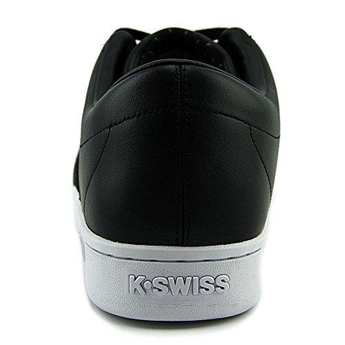 K-Swiss Classic 88 Herren Rund Leder Sportliche Turnschuh Black/Black/White
