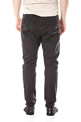 IMPERIAL - Homme pantalon chino p37 c01 Noir