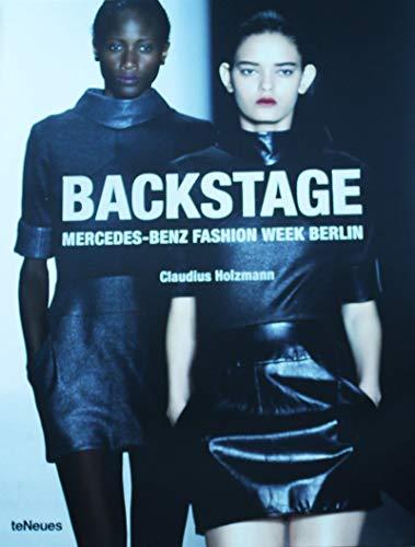 Backstage Mercedes-Benz fashion week Berlin par Claudius Holzmann