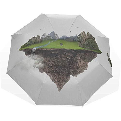 Ombrello isole isolate in the air 3 ombrelli artistici ombrello da pioggia ombrello ombrellone