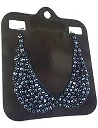 1edf4aaa6ea5 Les Trésors de Lily  Q5882 - Collar Collar Peter Pan  Scarlett  Cristal Azul
