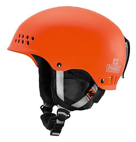 K2 Skis Herren Phase PRO Helm, orange, S (51-55 cm)