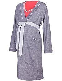 97723880d142 Happy Mama Vestaglia Camicia da Notte Allattamento. Venduti separatamente.  393p