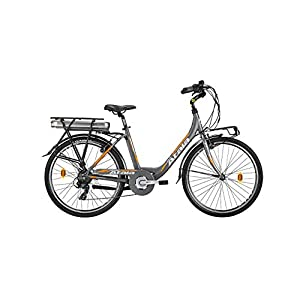 """41DluYKpsmL. SS300 Bici 26"""" Bici ELETTRICA E-Bike ELETTRICA ATALA E-Run 500 26"""" Batteria 518 WH 35 NM Gamma 2020"""