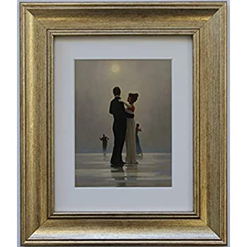 The Pier By Jack Vettriano Framed Art Print Picture 33cm X 28cm