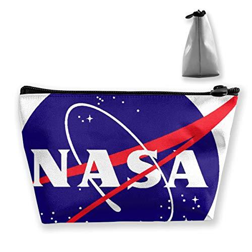 NASA Meatball Logo Tixing Makeup Bag Travel Bag Pouch Pen Case