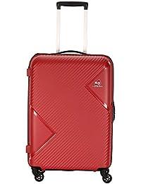 Kamiliant by American Tourister Kam Zakk Polypropylene 68 mm Red Hardsided Check-in Luggage (KAM Zakk SP68CM - Crimson RED)