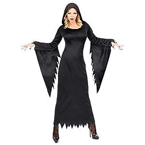 WIDMANN - Disfraz de reina gótica para mujer, multicolor, (L), 01643