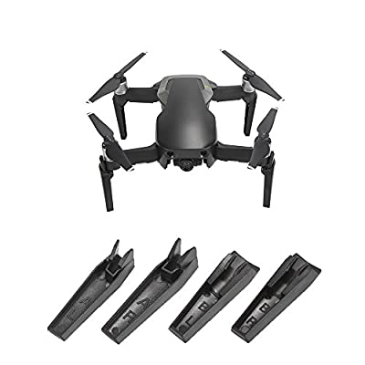 Kingwon Landing Gear for MAVIC AIR, 3.5cm Heightened Extended Landing Stabilizers Riser for Drone DJI MAVIC AIR,4 Pieces Black by Kingwon Tech