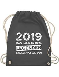 Einschulung und Schulanfang - 2019 Das Jahr in dem Legenden eingeschult werden - Turnbeutel & Gym Bag