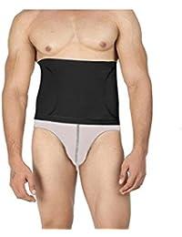 Body Brace Men's Black Tummy Shapewear Toner Brief