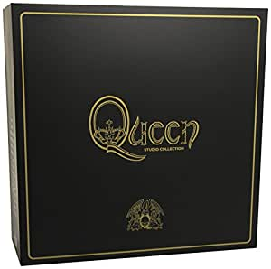 Complete Studio Album (Limited Coloured LP-Box) [Vinyl LP] – Queen