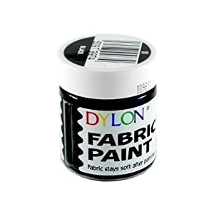 DYLON Fabric Paint Black 25ml