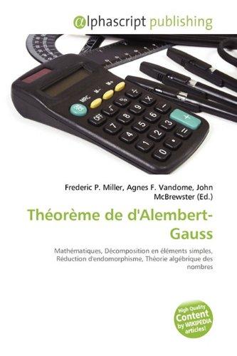 Théorème de d'Alembert-Gauss