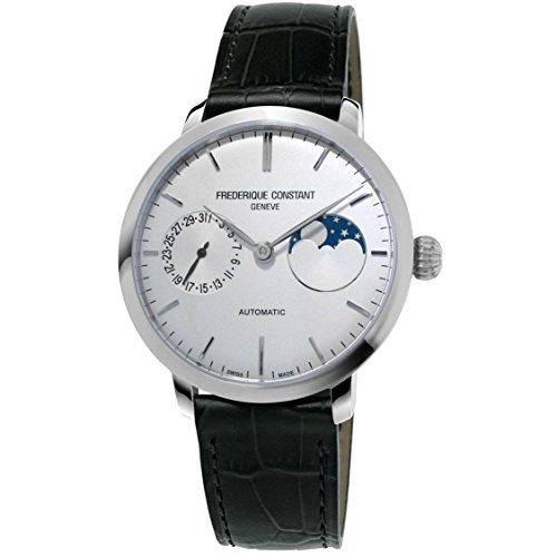 Frederique Constant Men's Slimline 38.8mm Black Automatic Watch FC-702S3S6