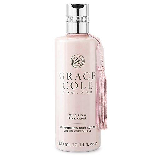 Lotion pour le corps de 300 ml par Grace Cole - Wild Fig & Pink Cedar