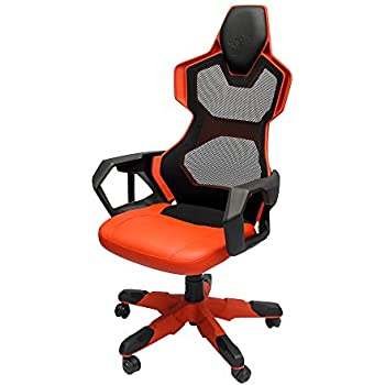 eblue cobrar red mesh pc gaming chair