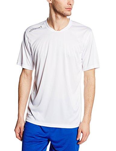Uhlsport, Maglietta sportiva in poliestere Essential Bianco (Weiß)
