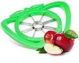 Apfelschneider Apfelschäler Schneider für Apfel Ausstecher Entkerner als universaler Obstschneider Apfelspalter Apfelteiler