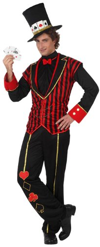 Imagen de atosa  disfraz de mago para hombre, talla m m/l  10165
