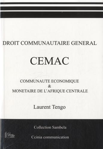 Droit communautaire général CEMAC
