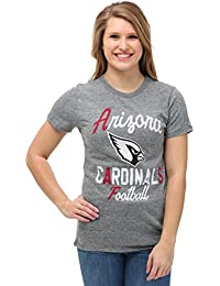 Junk Food Arizona Cardinals Touchdown Tri-Blend Womens T-Shirt