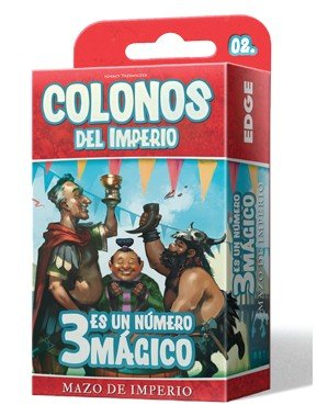 Colonos del Imperio Siedler des Imperiums – 3 ist ein Zauberstift Edge Entertainment edgeepgis05