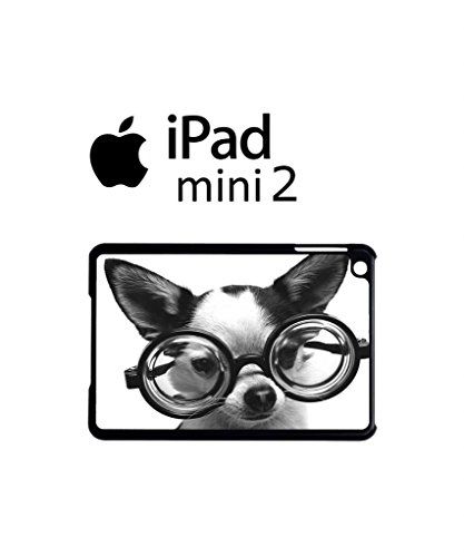 Doggie Geek Nerd Cute Cool Funny Hipster Swag iPad Case Back Cover Hülle Weiß Schwarz Mini 2 Tablet White