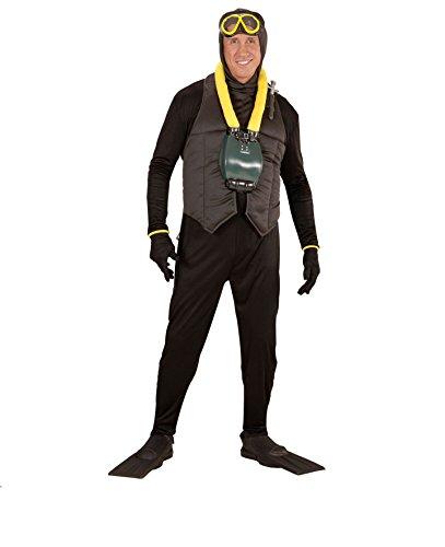 KOSTÜM - TAUCHER - Größe 50 (M), Kampfschwimmer Tauchsport (Taucher Kostüm)