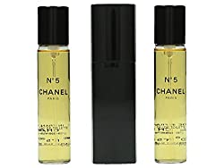 Chanel No.5 EDT Purse Spray And 2 Refills (Limited Edition) 3x20ml/0.7oz