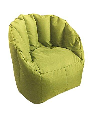 Sitting Bull Sessel Sitzsack Kind Shell Mini Grün