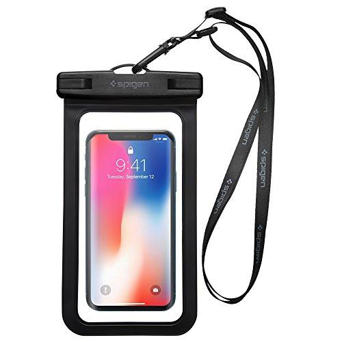 Resistente al agua Teléfono móvil, Spigen® Velo–IPX8Certificado Impermeable Bolsa, Bolsa Seca para iphone 7/7Plus/6S/6S Plus/Galaxy S8/S8Plus/S7/S7Edge/LG/NEXUS y más–A600