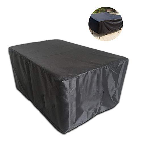 UMIWE Housses pour Table Chaise de Jardin Protecteur mobilier Salons Couvre Barbecue pour De Plein air Patio Arrière-Cour Meubles Imperméable 213x132x74cm (213x132x74cm)