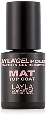 LAYLA COSMETICS Laylagel Polish Mat Top Coat Nail polish gel nails