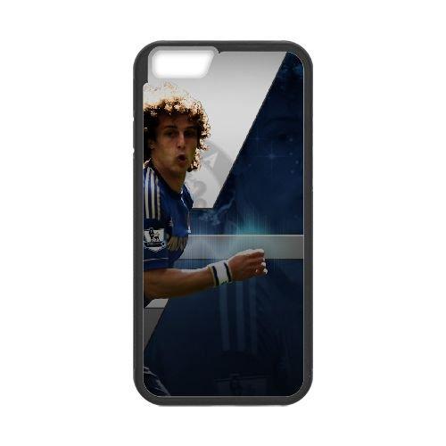 David Luiz coque iPhone 6 4.7 Inch Housse téléphone Noir de couverture de cas coque EBDXJKNBO13212