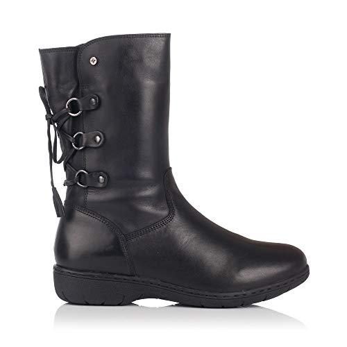 KangaROOS 9030-11, Damen Stiefel & Stiefeletten, Schwarz - Schwarz - Größe: 37 EU -