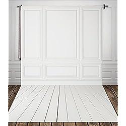 1.5*3m(150*300cm) Pura fotografía en blanco suelo de madera foto antecedentes bebé telón de fondo muestra de diseño fondos para photo studio xt-3602