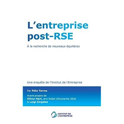 L'entreprise post-RSE: A la recherche de nouveaux équilibres