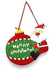 c87cf3b63bc 1 PC Adornos Colgando del árbol de Navidad Adornos para la decoración de la  Pared de