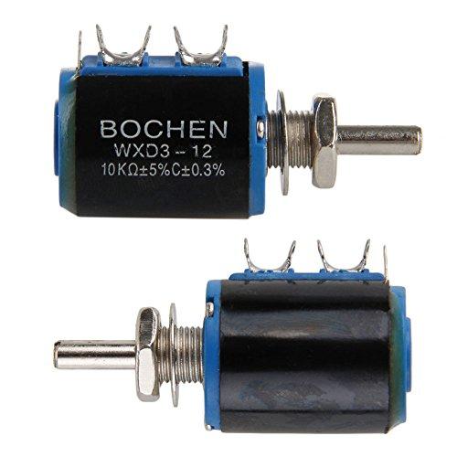 FXCO 2pc Shift Potentiometer (ein und ein anderes kostenlos kaufen) WXD3-12 10K Precision Multi Shift Potentiometer