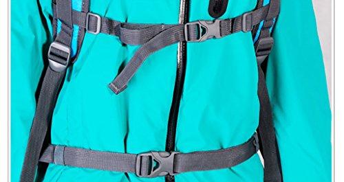 zaino trekking Coppia all'aperto 30L spalla degli uomini borsa e Donne Leisure Travel zaino multifunzionale Ultra-light Zaini da escursionismo ( Colore : B , dimensioni : 30L-15*26*48cm ) B