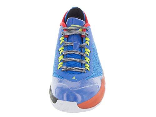 Nike CP3 VIII BG Black Red Youths Trainers Photo Blue/Cybr/Elctr Orng/Blk