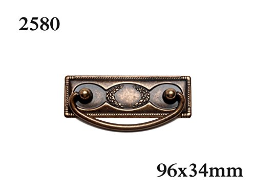 Nesu-Griff Stahl Bronze envejeci-96mm -