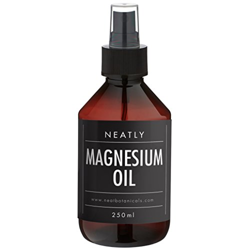 Magnesiumöl Spray von Neatly 250ml | Magnesium Spray Magnesiumchlorid | Magnesiumöl Vitalspray | Magnesiumöl Bio | Magnesium Creme Alternative