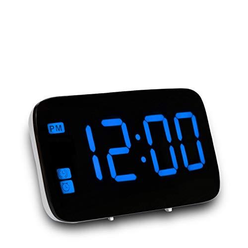 71c3651000fd Reloj despertador LED activado por voz despertador creativo funciona con  pilas y monedas