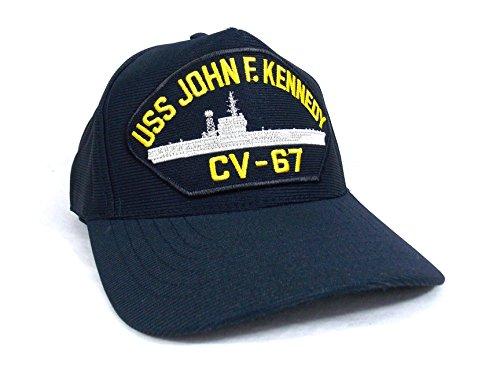 uss-john-j-kennedy-cv-67-casquette-marine-militaire-navy-americaine-porte-avion
